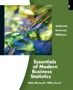 cover for ASW Essentials of Modern Business Statistics, 4th edition