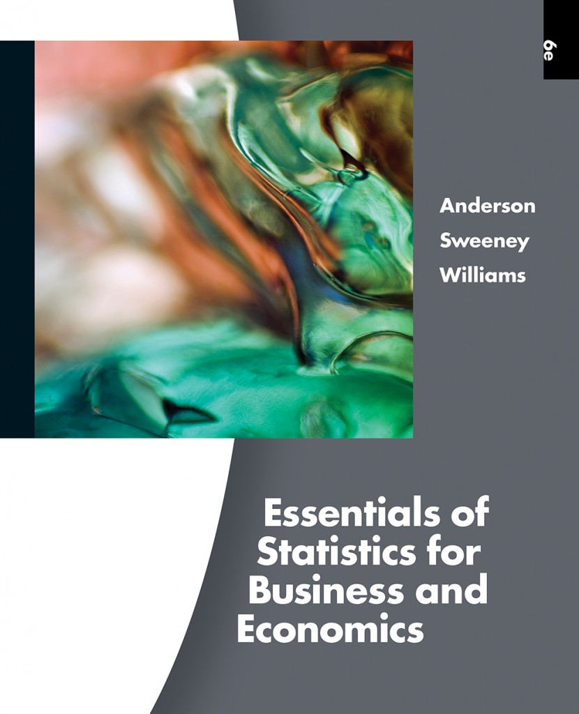 cover for ASW Essentials of Statistics for Business and Economics, 6th edition