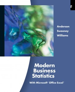 cover for ASW Modern Business Statistics, 4th edition