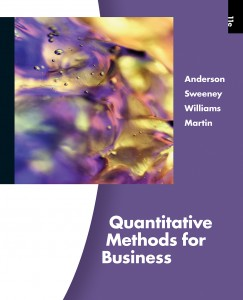 cover for ASW Quantitative Methods for Business, 4th edition