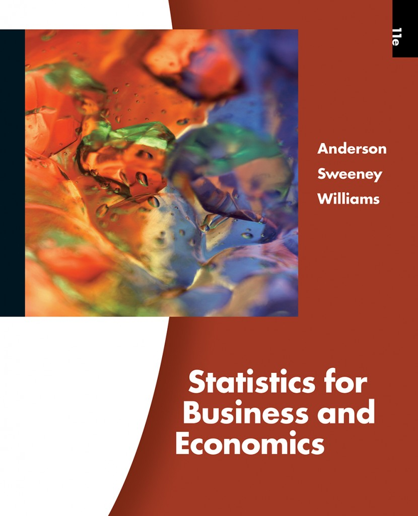 cover for ASW Statistics for Business and Economics, 11th edition