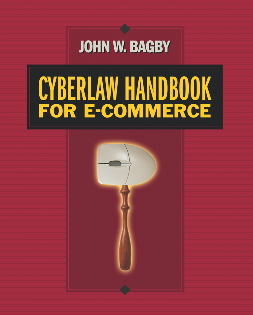 Cyberlaw Handbook for e-Commerce book cover