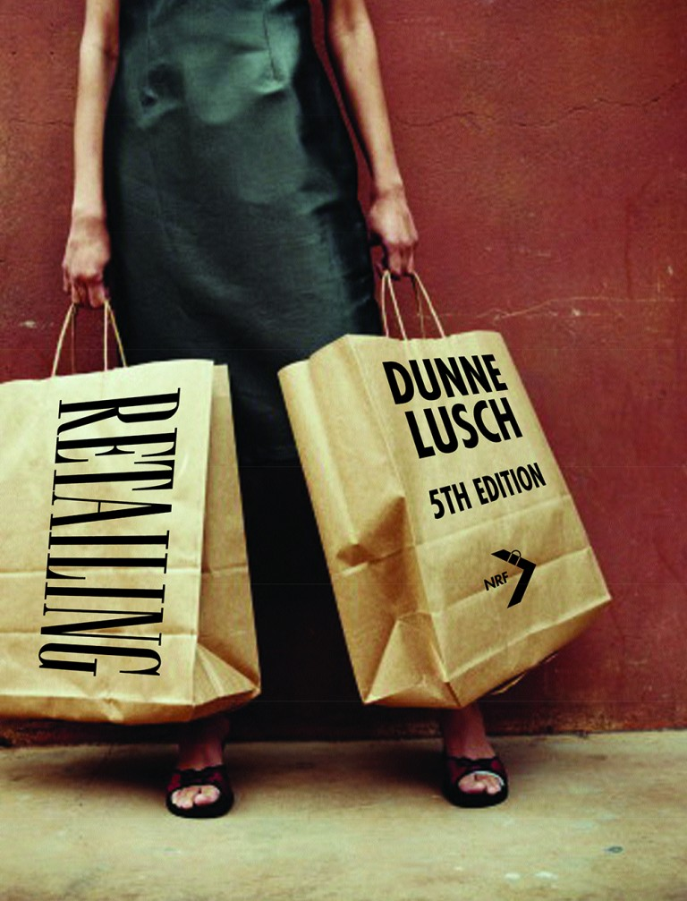 book cover for Retailing by Dunne and Lusch