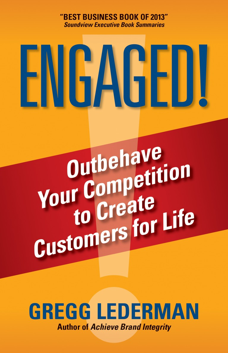 book cover for Engaged! by Gregg Lederman