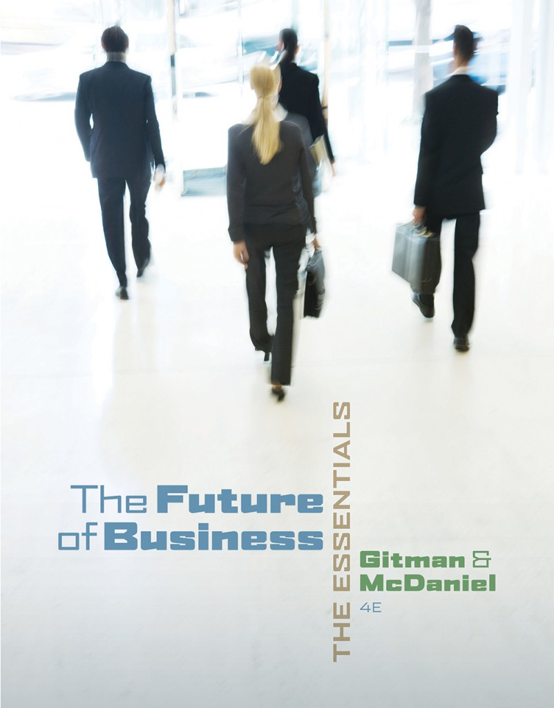 book cover for The Future of Business by Gitman and McDaniel