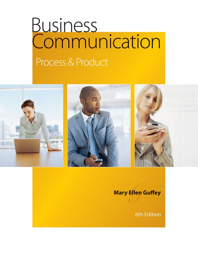 book cover for Business Communication by Mary Ellen Guffey