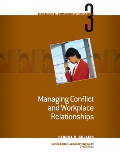 Managing Conflict and Workplace Relationships book cover