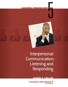 Interpersonal Communication: Listening and Responding book cover