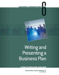 Writing and Presenting a Business Plan book cover