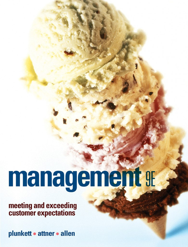 book cover for Management by Plunkett, Attner and Allen