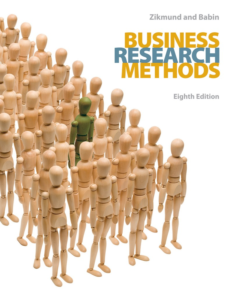 Business Research Methods book cover