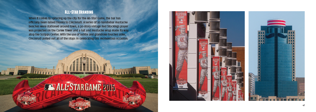 All-Star branding at Union Terminal and other locations