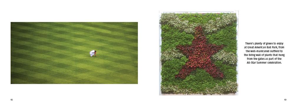 greenery at Great American Ball Park