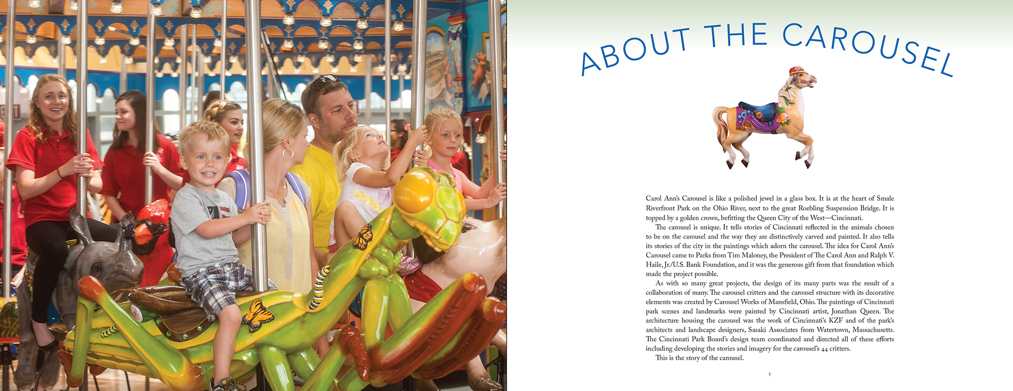 About the Carousel spread